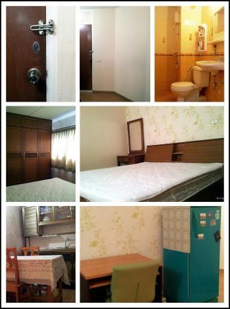 ให้เช่าห้อง   ข้างห้องมุม อาคาร T7 ชั้น 12