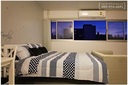 ให้เช่าห้อง   ห้องเล็กด้านนอก อาคาร T4 ชั้น 4