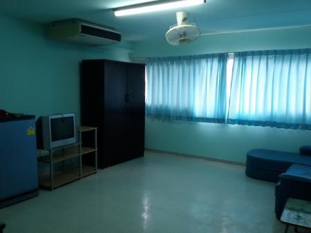 ให้เช่าห้อง   ห้องขนาดกลางด้านนอก อาคาร P2 ชั้น 4