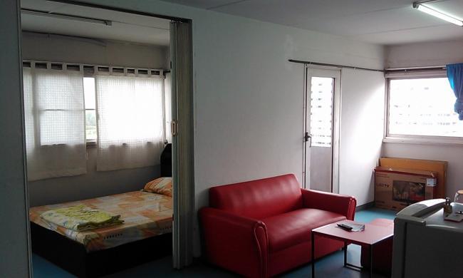 ให้เช่าห้อง   ห้องมุม อาคาร T8 ชั้น 10