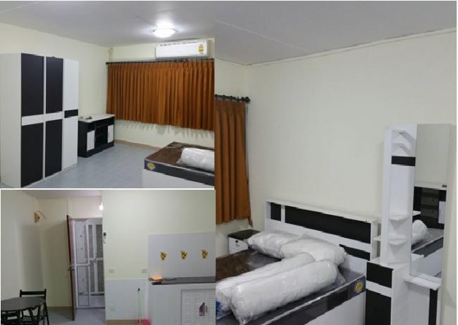ให้เช่าห้อง   ห้องเล็กด้านนอก อาคาร T3 ชั้น 3