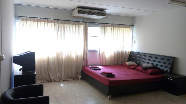 ให้เช่าห้อง   ห้องขนาดกลางด้านใน อาคาร T4 ชั้น 2