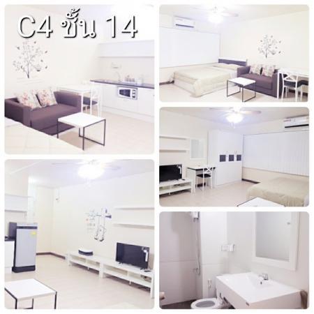 ให้เช่าห้อง   ห้องขนาดเล็กด้านใน อาคาร C4 ชั้น 14