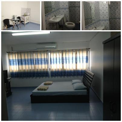 ขายห้อง ห้องเล็กด้านนอก อาคาร P2 ชั้น 8