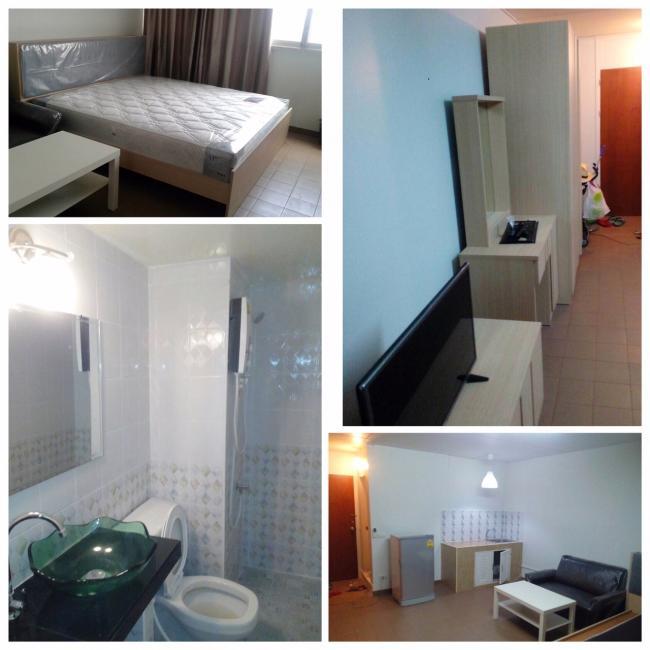 ให้เช่าห้อง   ห้องเล็กด้านนอก อาคาร C4 ชั้น 16