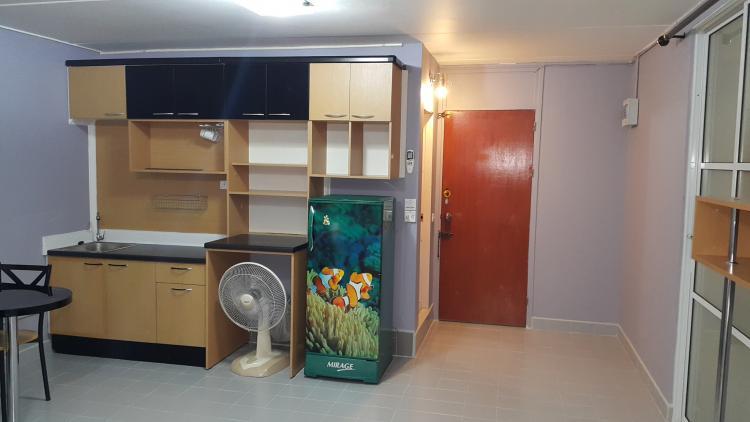 ให้เช่าห้อง   ห้องขนาดกลางด้านใน อาคาร T8 ชั้น 9