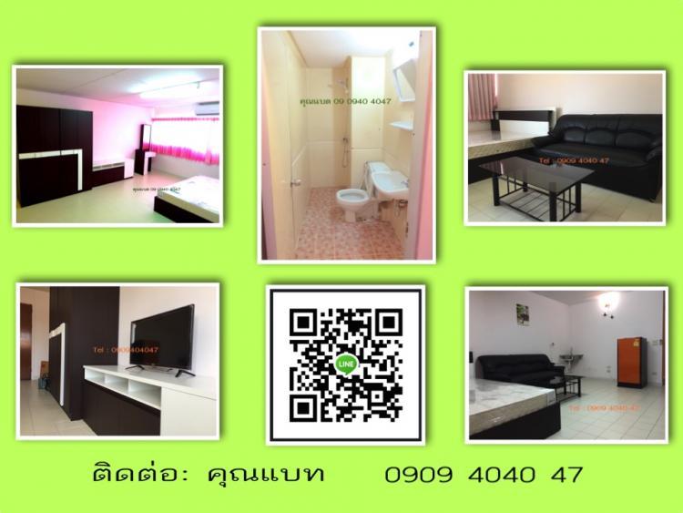 ให้เช่าห้อง   ห้องเล็กด้านใน อาคาร P1 ชั้น 10