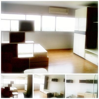 ให้เช่าห้อง   ห้องเล็กด้านนอก อาคาร P4 ชั้น 16