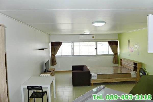 ให้เช่าห้อง   ข้างห้องมุม อาคาร C6 ชั้น 6