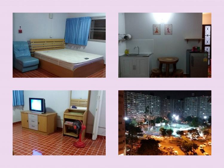 ให้เช่าห้อง   ห้องเล็กด้านนอก อาคาร P1 ชั้น 7