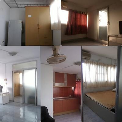 ให้เช่าห้อง   ห้องมุม อาคาร T3 ชั้น 14