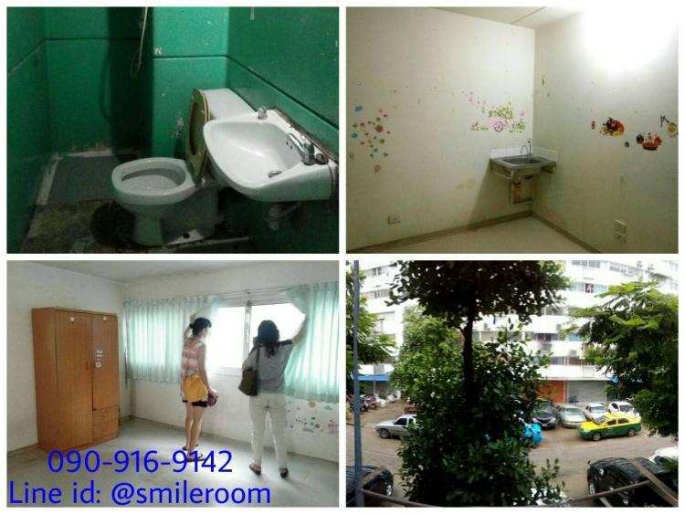 ขายห้อง ห้องเล็กด้านนอก อาคาร T11 ชั้น 2