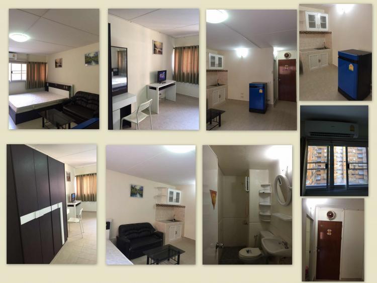 ให้เช่าห้อง   ห้องเล็กด้านใน อาคาร C1 ชั้น 8
