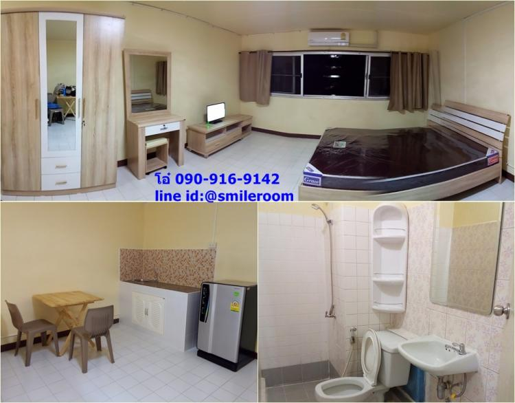 ให้เช่าห้อง   ห้องเล็กด้านใน อาคาร T2 ชั้น 6