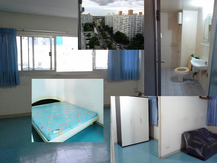 ให้เช่าห้อง   ห้องขนาดกลางด้านนอก อาคาร T10 ชั้น 13