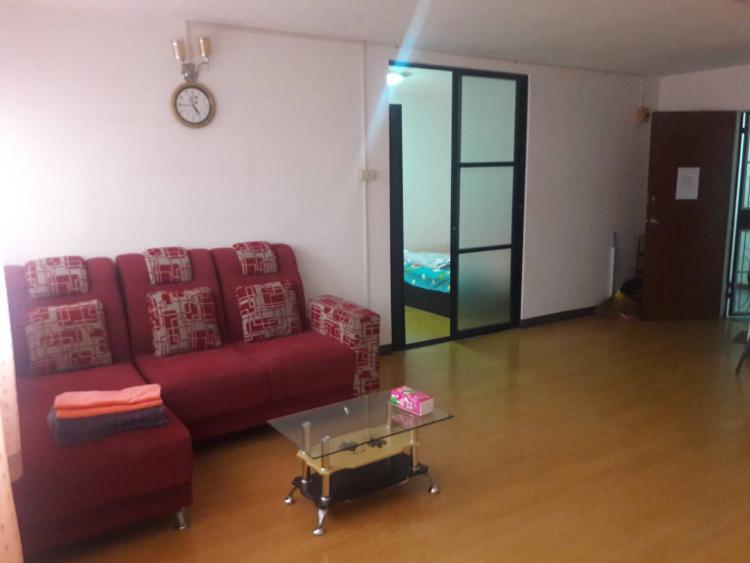ให้เช่าห้อง   ห้องขนาดกลางด้านนอก อาคาร T6 ชั้น 12