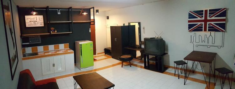 ให้เช่าห้อง   ห้องเล็กด้านนอก อาคาร T4 ชั้น 2