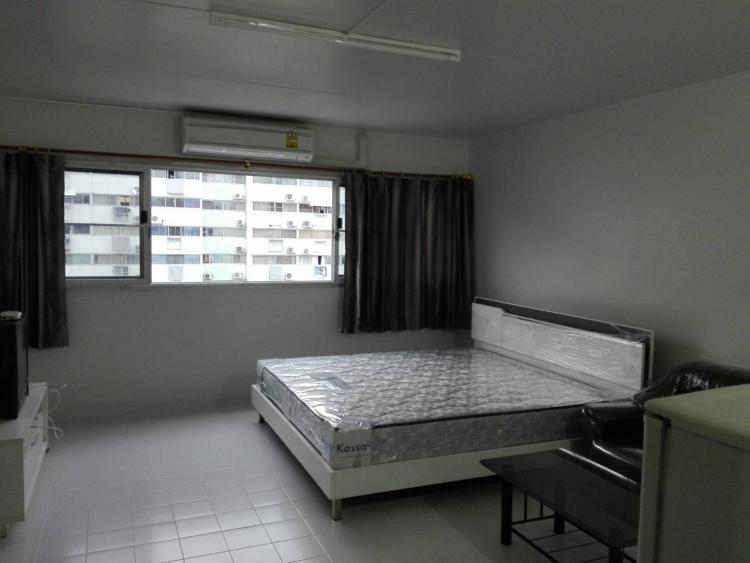 ให้เช่าห้อง   ห้องเล็กด้านนอก อาคาร T4 ชั้น 8