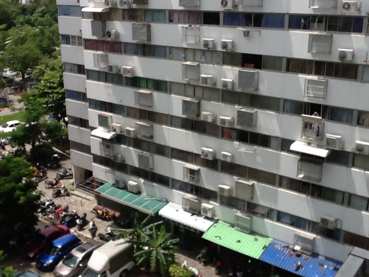 ขายห้อง ห้องขนาดกลางด้านนอก อาคาร P1 ชั้น 15