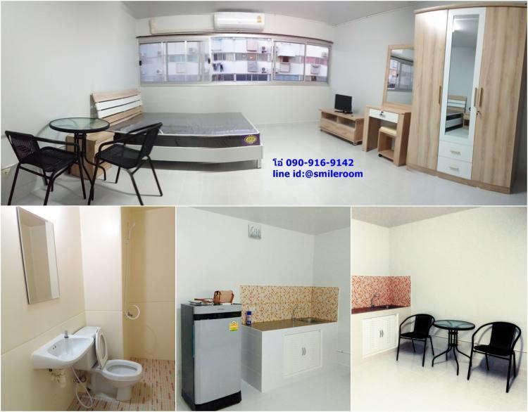 ให้เช่าห้อง   ห้องเล็กด้านนอก อาคาร T1 ชั้น 12