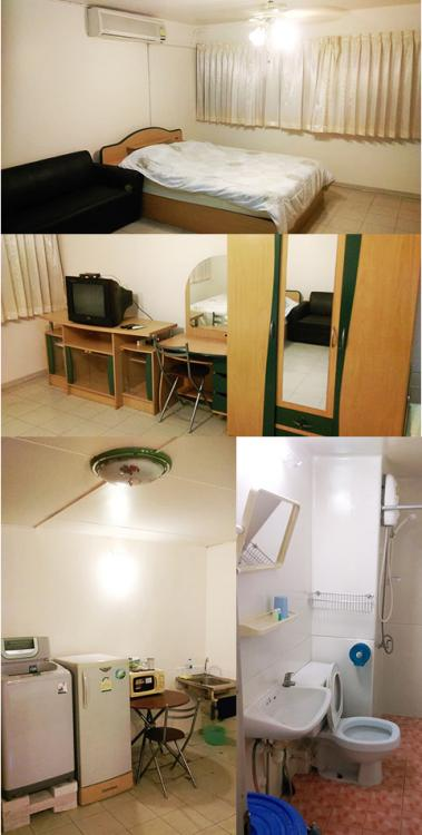 ให้เช่าห้อง   ห้องเล็กด้านนอก อาคาร C5 ชั้น 13