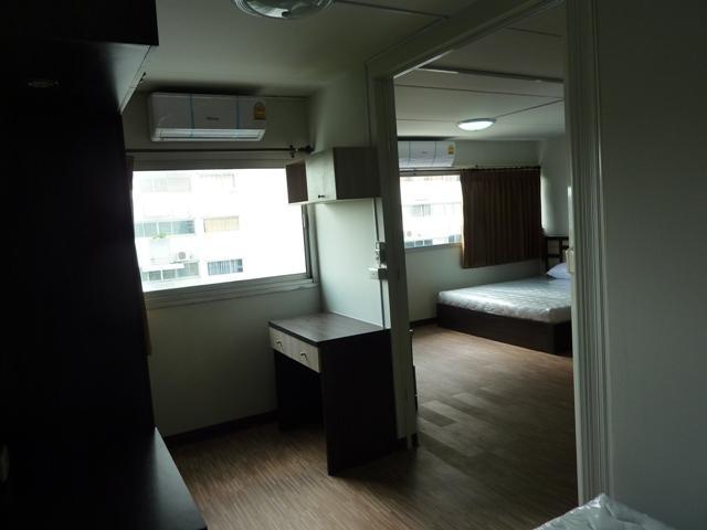 ขายห้อง ห้องขนาดกลางด้านนอก อาคาร C7 ชั้น 9
