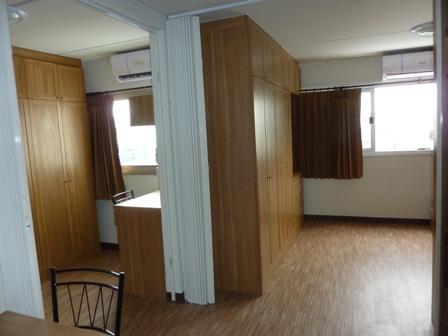 ให้เช่าห้อง   ห้องขนาดกลางด้านนอก อาคาร C5 ชั้น 15