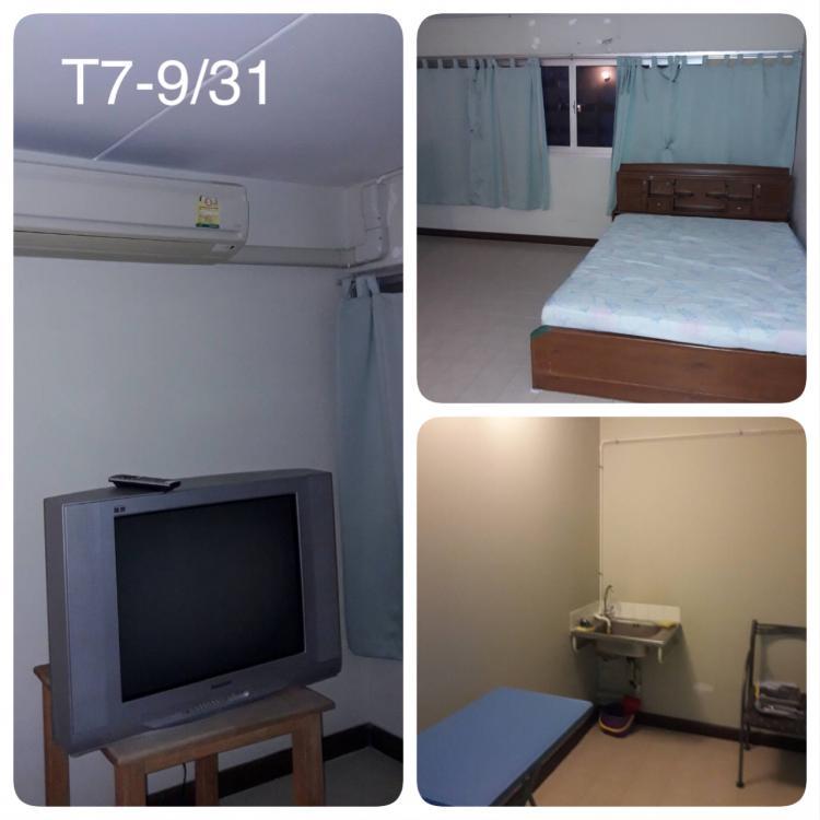 ให้เช่าห้อง   ห้องเล็กด้านใน อาคาร C7 ชั้น 9