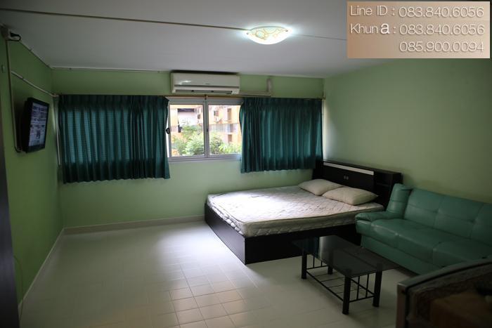 ให้เช่าห้อง   ห้องขนาดกลางด้านใน อาคาร C4 ชั้น 3