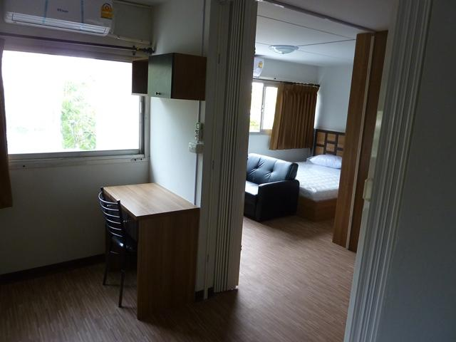 ให้เช่าห้อง   ห้องขนาดกลางด้านนอก อาคาร T1 ชั้น 2