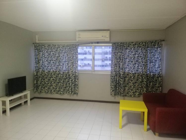 ให้เช่าห้อง   ห้องขนาดกลางด้านนอก อาคาร T2 ชั้น 7