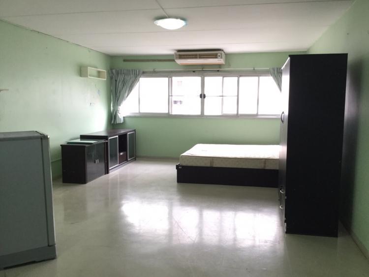 ให้เช่าห้อง   ห้องขนาดกลางด้านนอก อาคาร T6 ชั้น 3