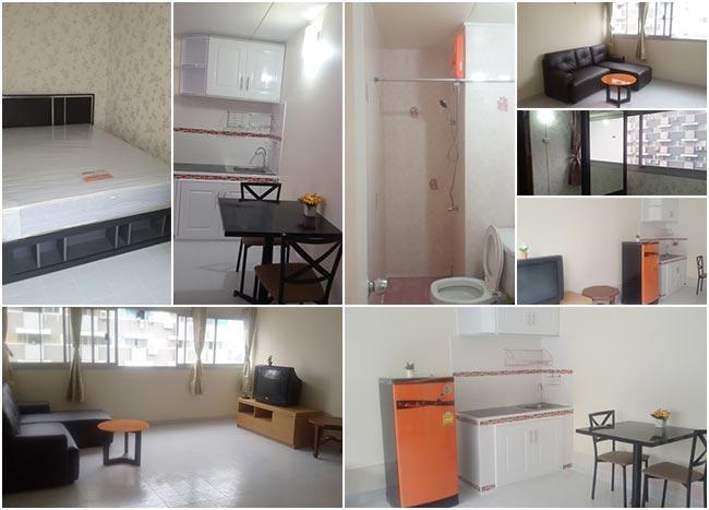 ให้เช่าห้อง   ห้องมุม อาคาร P2 ชั้น 12
