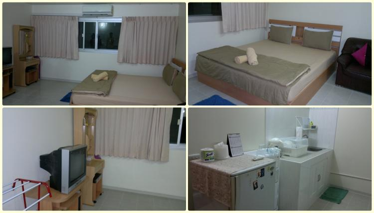 ให้เช่าห้อง   ข้างห้องมุม อาคาร C8 ชั้น 2