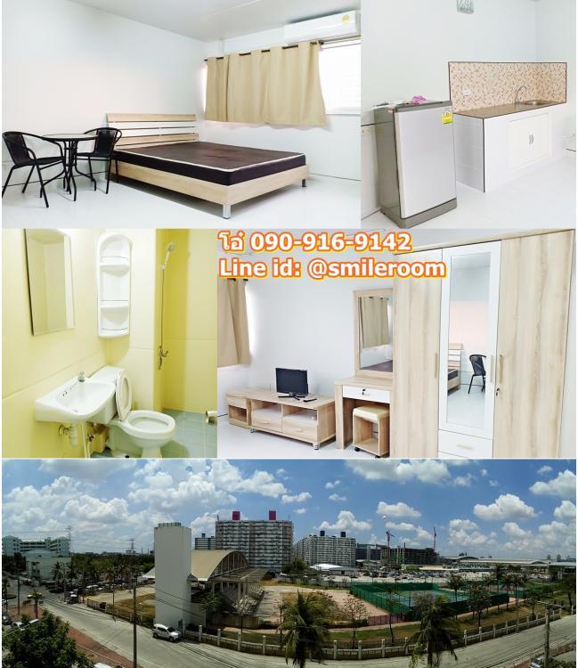 ให้เช่าห้อง   ห้องเล็กด้านใน อาคาร T4 ชั้น 3