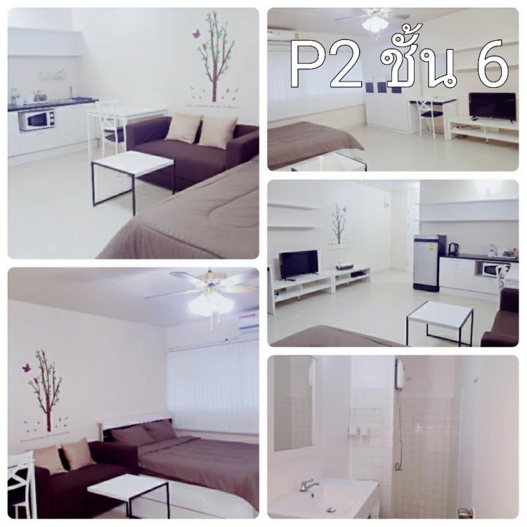 ให้เช่าห้อง   ห้องเล็กด้านใน อาคาร P2 ชั้น 6