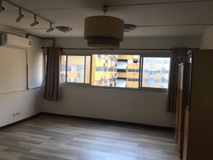 ให้เช่าห้อง   ห้องขนาดกลางด้านใน อาคาร P4 ชั้น 8