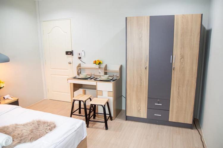 ให้เช่าห้อง   ห้องเล็กด้านใน อาคาร C1 ชั้น 2