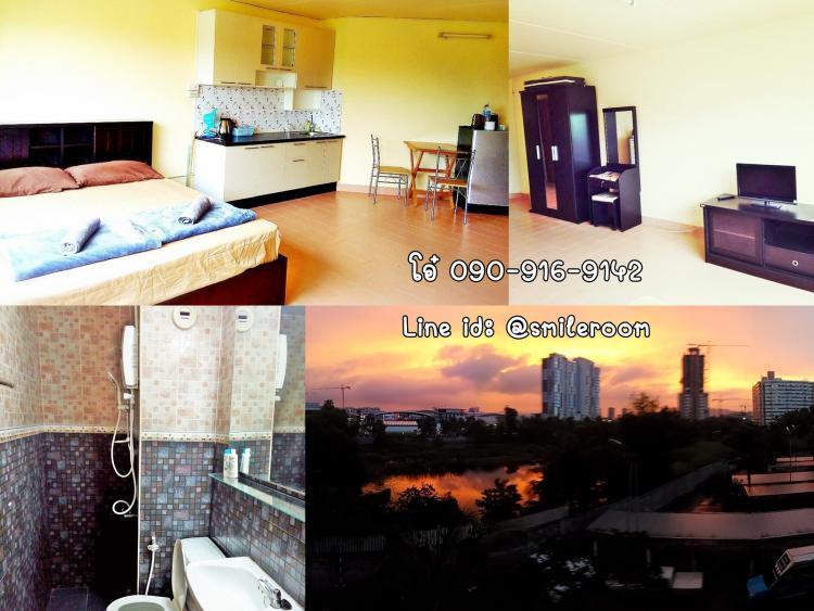 ให้เช่าห้อง   ข้างห้องมุม อาคาร T10 ชั้น 4